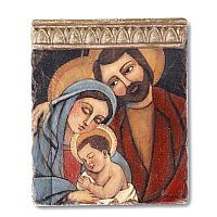 Holy Family Tile Wall Art