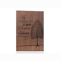 Strength Wall Plaque