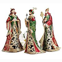 Tin 3 Kings Figurines