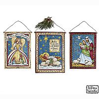 Holy Family Canvas Wall Hangings