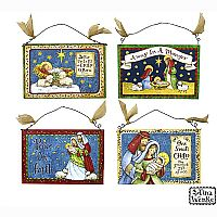 Asst. Nativity Wall Hanging