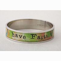 Have Faith Bangle