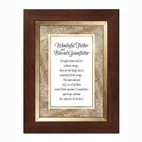 Wonderful Father/Blessed Grandfather Frame