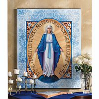 Miraculous Medal Plaque (4 1/2 x 6)