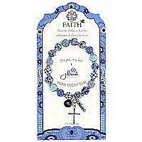 Blue Faith Gift Bracelet