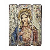 Immaculate Heart Wall Plaque