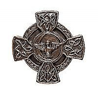 Celtic Cross with Dove