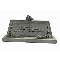 Memorial Table Plaque