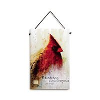 Cardinal Wall Plaque