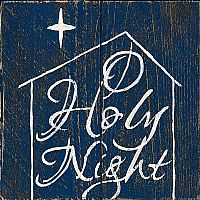O Holy Night Wall Plaque