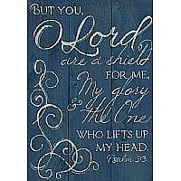 Psalm 3:3 Wood Plaque