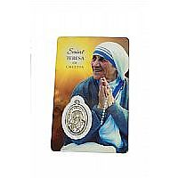 St. Teresa of Calcutta Prayer Card