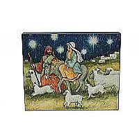 Mary and Joseph Canvas Wall Art