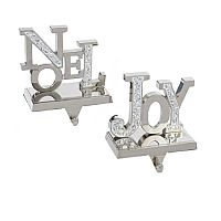 Noel and Joy Stocking Holders