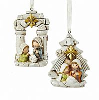 Holy Family Ornaments