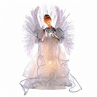 Fiberoptic Angel Tree Topper