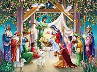 Magi at the Manger Puzzle