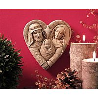 Heart of Christmas Statue