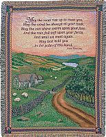 Blessings of Ireland Tapestry Throw