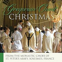 Gregorian Chant Christmas CD