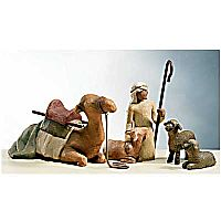 Shepherd and Stable Animals Set