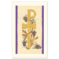Chi-rho, Wheat and Grapes