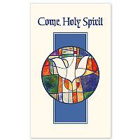 Holy Spirit Stained Glass Style Image
