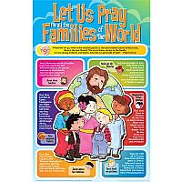 Let Us Pray for All the Families of the World Poster