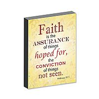 Faith Is the Assurance