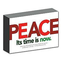 Peace Its Time Is Now
