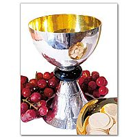 Chalice, Grapes and Paten Photo