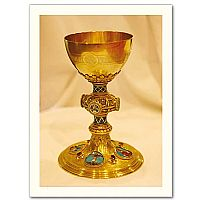 Traditional Gold Chalice