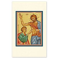 Doubting Thomas Holy Card