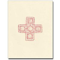 Red Celtic Cross Notes