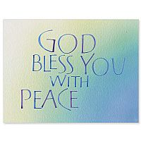 God Bless You with Peace