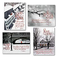 Monk Prayer Christmas Petite Note Assortment