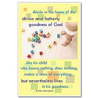 Abide in the home of the divine