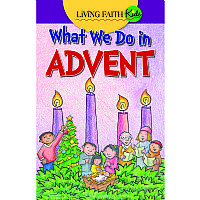 What We Do In Advent: A Children's Sticker Guide