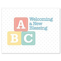 Welcome a New Blessing
