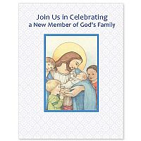 Join Us in Celebrating a New Member of God's Family