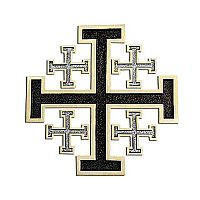 Jerusalem Wall Cross