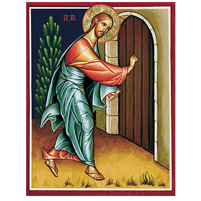 Behold I Stand At The Door And Knock Icon Reproduction