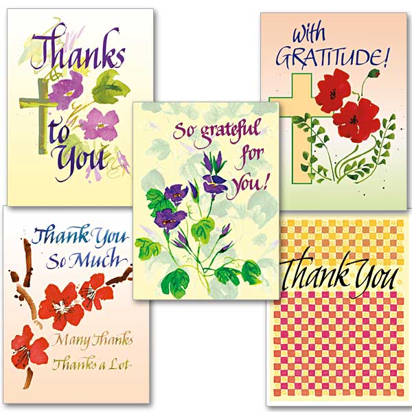 simply thank you collection assorted thank you cards