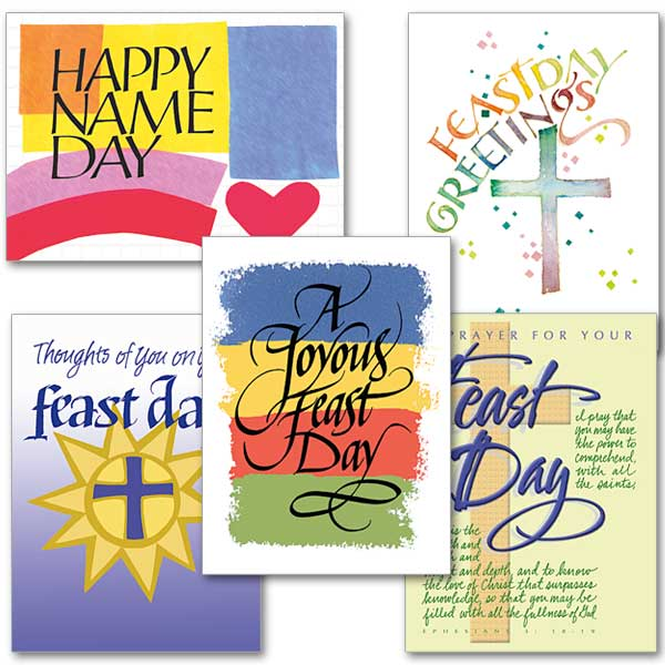 Feast day cards buy religious feastday greeting card online the feast day assortment m4hsunfo