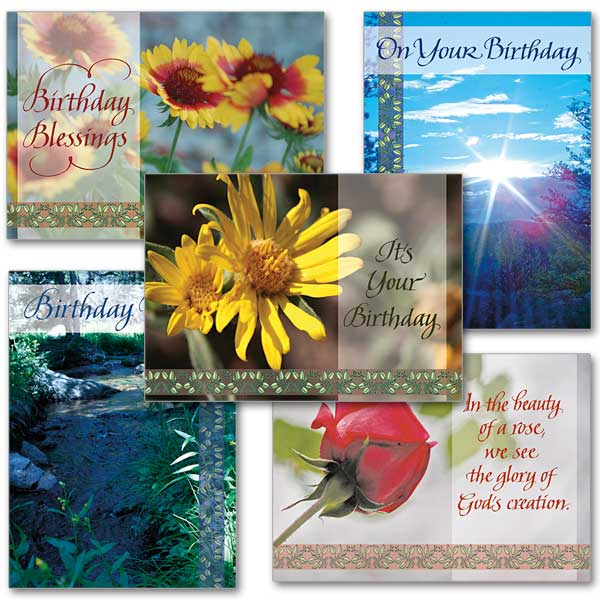 Birthday Photo Card Assortment Assorted Birthday Cards