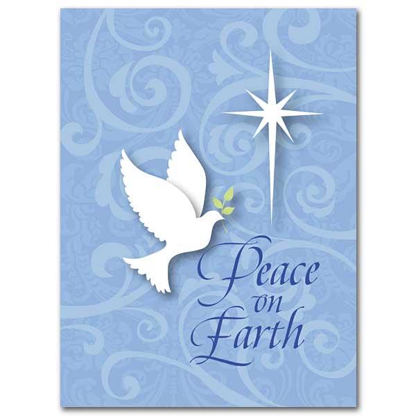 peace on earth christmas card - Peace On Earth Christmas Cards