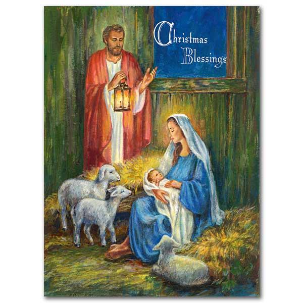 jesus mary and joseph the printery house - Jesus Christmas Cards