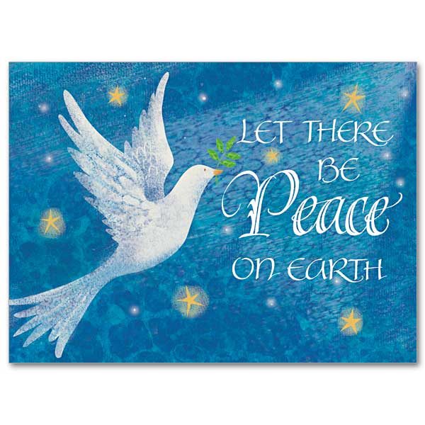Let There Be Peace On Earth: Christmas Spirit Card
