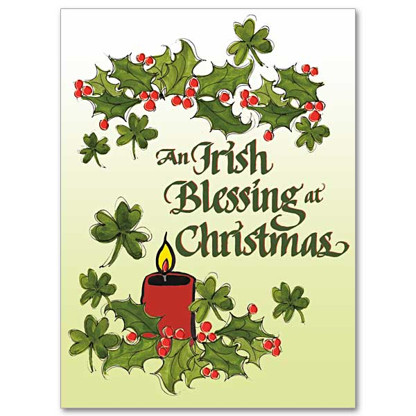 irish christmas cards the printery house - Christmas Blessings For Cards