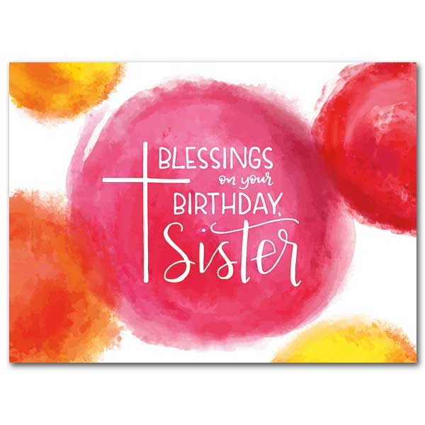 Blessings On Your Birthday Sister Religious Or Nun